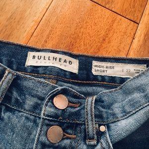 Bullhead Shorts - High Rise Shortie